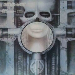LONG PLAY E. L. & PALMER BRAIN SALAD SURGERY 1979 REEDIÇÃO GRAV ATLANTIC RECORDS