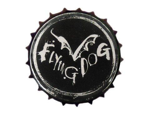 TAMPINHA CERVEJA FLYING DOG BEER BLACK USA - comprar online