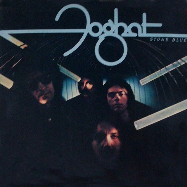LONG PLAY FOGHAT STONE BLUE 1978 GRAV WARNER RECORDS