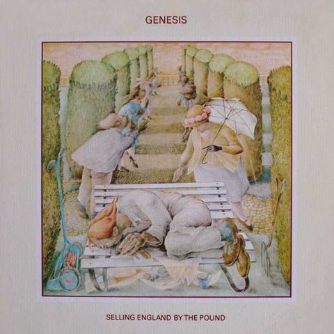LONG PLAY GENESIS SELLING ENGLAND BY THE POUND 1974 GRAV CHARISMA LABEL