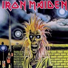 LONG PLAY IRON MAIDEN #1 1985 ORIGINAL GRAV EMI MUSIC