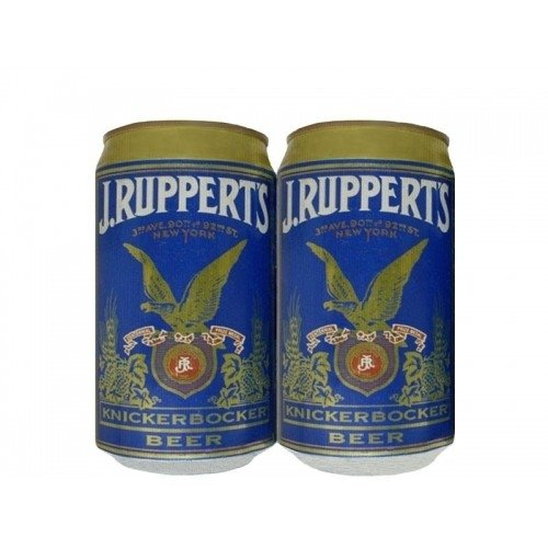 LATA J.RUPPERT'S KNICKERBOCKER BEER 355 ML ALUMINIO USA - comprar online