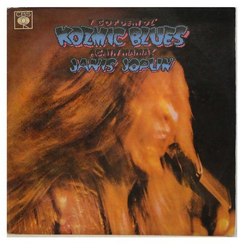 LONG PLAY JANIS JOPLIN I GOT KOZMIC BLUES 1971 REEDIÇÃO GRAV HARMONY/CBS