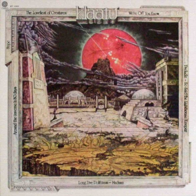 LONG PLAY KLAATU HOPE 1977 EDIÇÃO ORIGINAL GRAV CAPITOL RECORDS