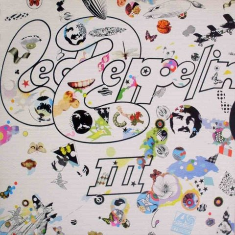 LONG PLAY LED ZEPPELIN III REEDIÇÃO 1991 GRAV WEA ATLANTIC DISCOS - comprar online