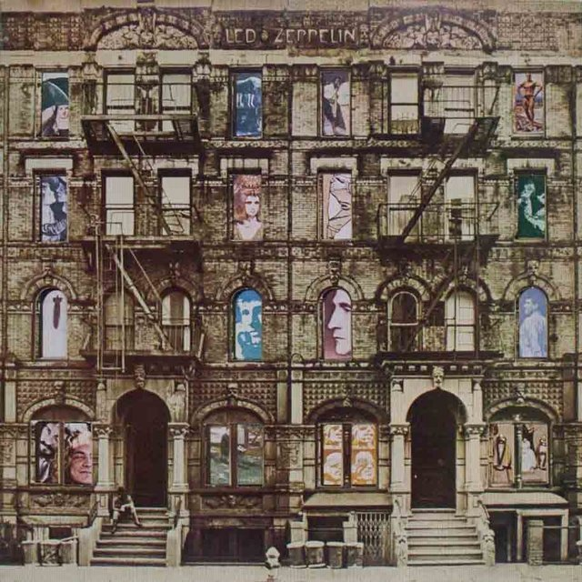 LONG PLAY LED ZEPPELIN PHYSICAL GRAFFITI 1977 DUPLO GRAV WEA DISCOS
