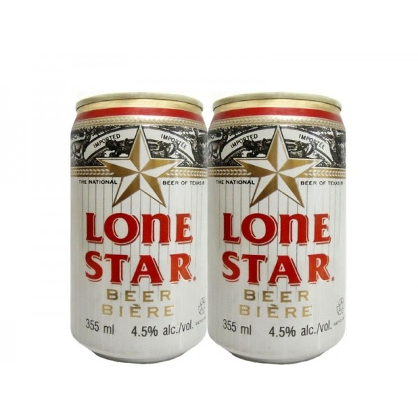 LATA LONE STAR BEER OF TEXAS 355 ML ALUMÍNIO USA