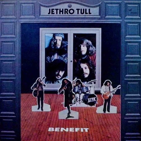 LONG PLAY JETHRO TULL BENEFIT 1988 REEDIÇÃO GRAV CHRYSALIS RECORDS