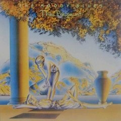 LONG PLAY THE MOODY BLUES THE PRESENT 1983 ORIGINAL GRAV LONDON / POLYGRAM DISCOS