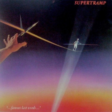 LONG PLAY SUPERTRAMP FAMOUS LAST WORDS 1988 GRAV AM RECORDS