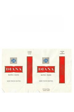 MAÇO DIANA KING SIZE RED BY TABASUR S/A PARAGUAY