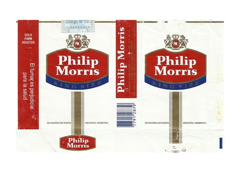 MAÇO PHILIP MORRIS KING SIZE RUBIOS MASSALIN PARTICULARES S/A ARGENTINA