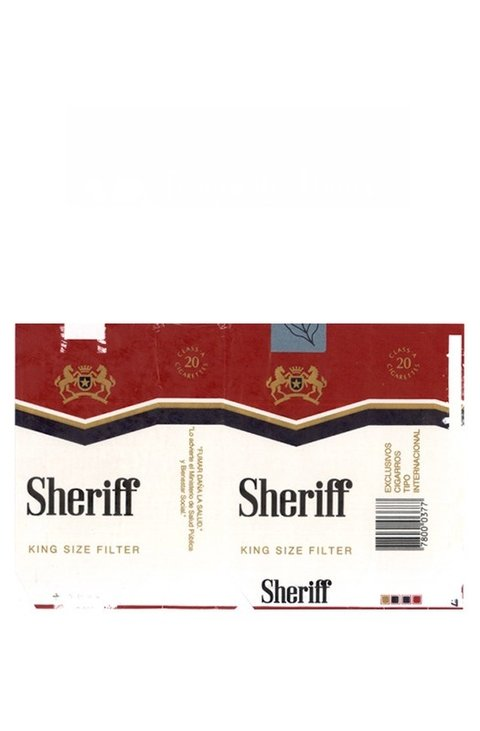 MAÇO SHERIFF KING SIZE FILTER MADE IN PY PARAGUAY