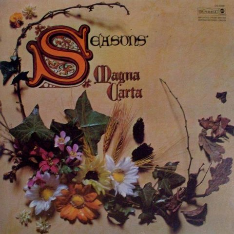LONG PLAY MAGNA CARTA SEASONS 1970 ORIGINAL IMPORTADO GRAV ABC / DUNHILL RECORDS USA