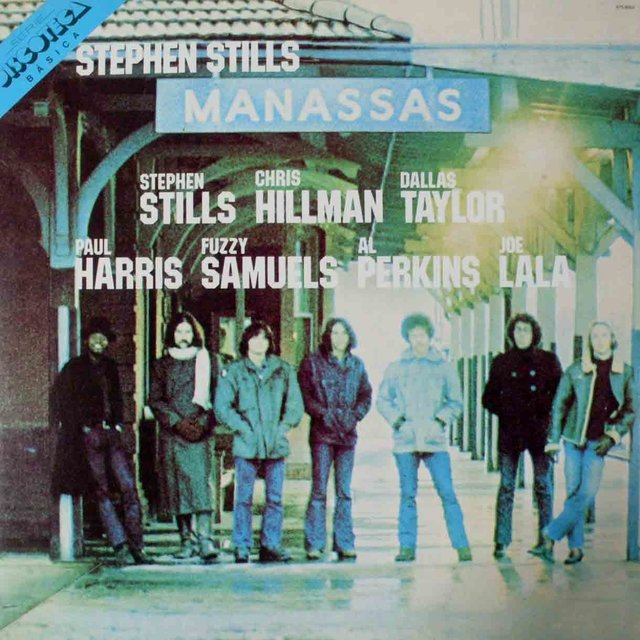 LONG PLAY STEPHEN STILLS MANASSAS 1972 DUPLO GRAV ATLANTIC RECORDS