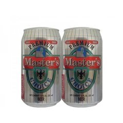 LATA MASTER'S CHOICE PREMIUM 355 ML ALUMÍNIO USA