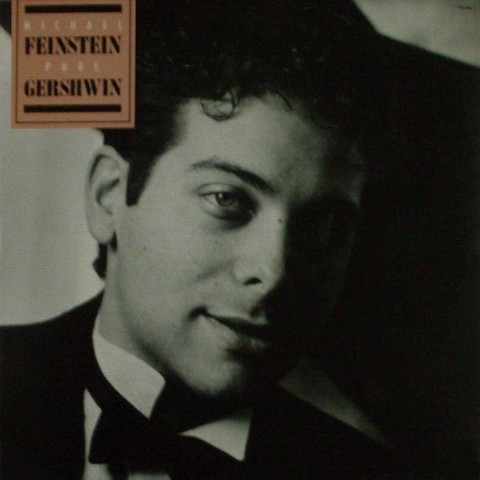 LONG PLAY MICHAEL FEINSTEIN PURE GERSHWIN 1987 GRAV ELEKTRA RECORDS