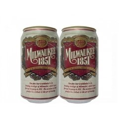 LATA MILWAUKEE 1851 PREMIUM BEER 355 ML ALUMÍNIO USA - comprar online