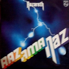 LONG PLAY NAZARETH RAZAMANAZ ORIGINAL 1973 GRAV PHONOGRAM / PHILIPS