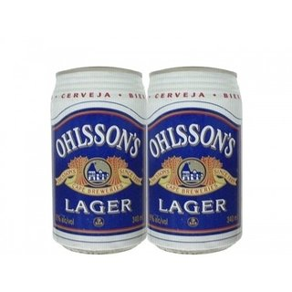 LATA OHLSSON'S LAGER 340 ML FERRO SOUTH AFRICA - comprar online
