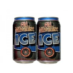 LATA OLD MILWAUKEE ICE 355 ML USA