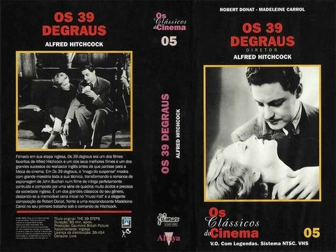 VHS OS 30 DEGRAUS LEGENDADO GRAV FILMAX HOME VIDEO