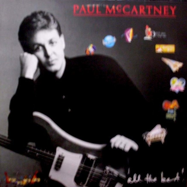 LONG PLAY PAUL MCCARTNEY ALL THE BEST! 1987 DUPLO GRAV EMI ODEON FONOG