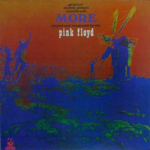 LONG PLAY PINK FLOYD MORE 1974 GRAV HARVEST RECORDS