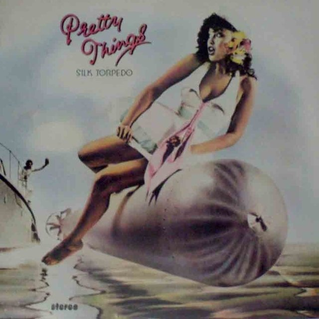 LONG PLAY PRETTY THINGS SILK TORPEDO 1975 ORIGINAL GRAV SWAN SONG RECORDS