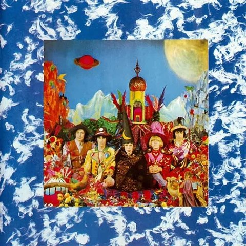 LONG PLAY ROLLING STONES THEIR SATANIC MAJESTIES REQUEST 1969 GRAV LONDON-EMI ODEON