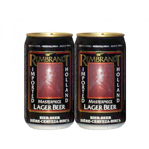 LATA REMBRANDT LAGER BEER 330 ML ALUMÍNIO HOLLAND