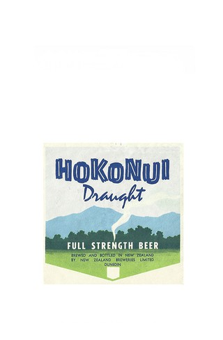 ROTULO HOKONUI DRAUGHT FULL STRENGTH BEE......