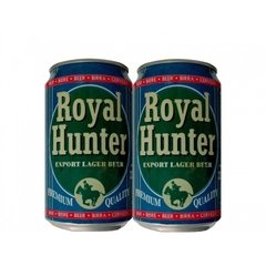 LATA ROYAL HUNTER EXPORT LAGER 330 ML ALUMÍNIO ENGLAND - comprar online