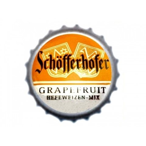TAMPINHA CERVEJA SCHÖFFERHOFER GRAPEFRUIT GERMANY