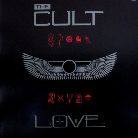 LONG PLAY THE CULT LOVE 1985 ORIGINAL GRAV VIRGIN RECORDS
