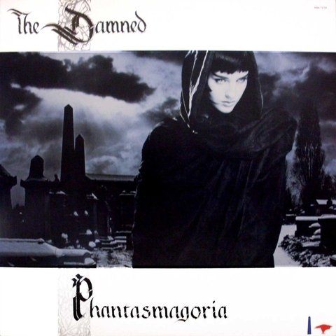 LONG PLAY THE DAMNED PHANTASMAGORIA 1986 ORIGINAL GRAV MCA RECORDS