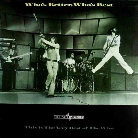 LONG PLAY THE WHO WHOS BETTER WHOS BEST 1988 GRAV POLYDOR LTD
