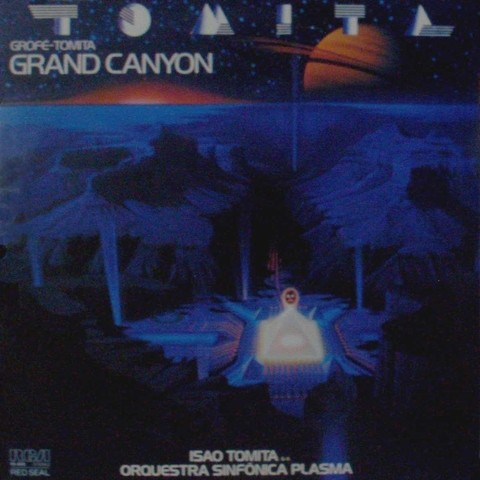 LONG PLAY TOMITA GRAND CANYON 1982 GRAV RCA RED SEAL