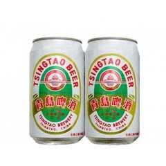 LATA TSINGTAO BEER 355 ML ALUMÍNIO CHINA
