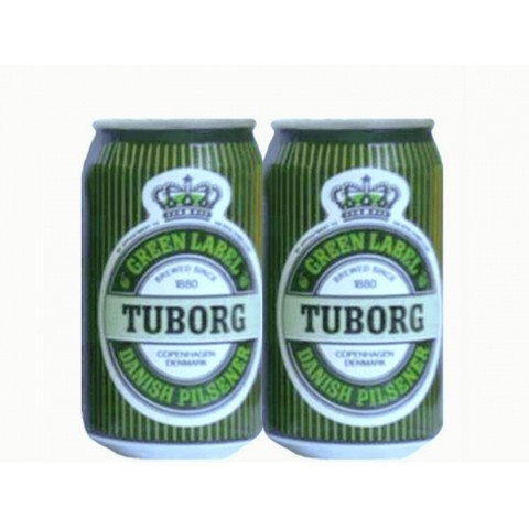 LATA TUBORG GREEN LABEL 330 ML ALUMÍNIO DENMARK