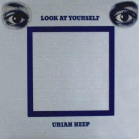 LONG PLAY URIAH HEEP LOOK AT YOURSELF 1983 REEDIÇÃO GRAV BRONZE