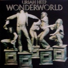 LONG PLAY URIAH HEEP WONDERWORLD 1983 REEDIÇÃO GRAV BRONZE RECORDS