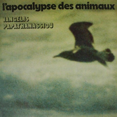 LONG PLAY VANGELIS PAPATHANASSIOU L'APOCALYPSE DES ANIMAUX 1985 GRAV ATLAS RECORDS