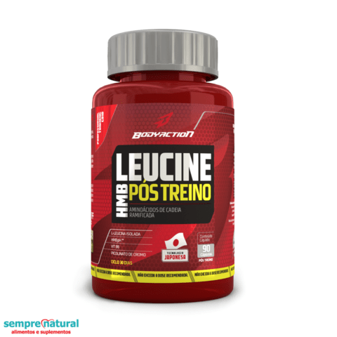 Leucine HMB 90 Cáps - Body Action