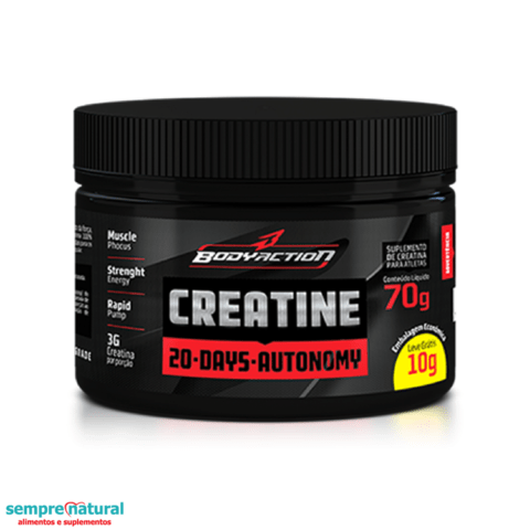 Creatine 70G - Body Action