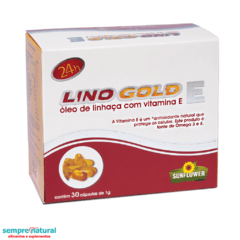 Lino Gold E  30 cáps - Sunflower
