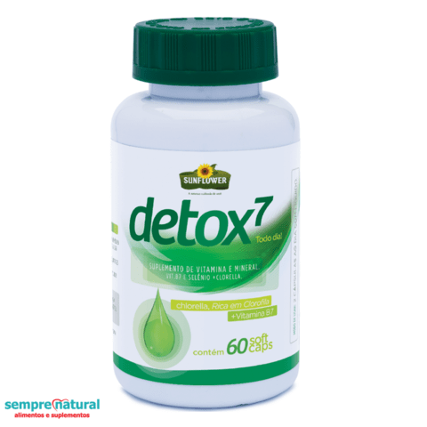 Detox7  - 60 cáps - Sunflower