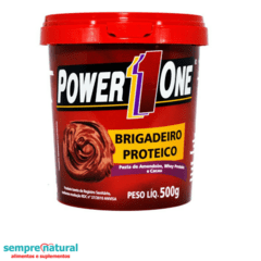 Pasta de Amendoim Brigadeiro Proteico - Power1One 500g