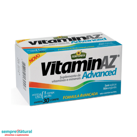 Vitamin AZ Advanced - 30 Comprimido - Sunflower