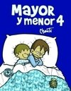Mayor y menor 4 - comprar online